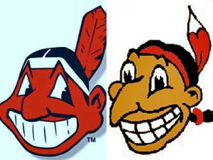 Chief Wahoo today & yesterday